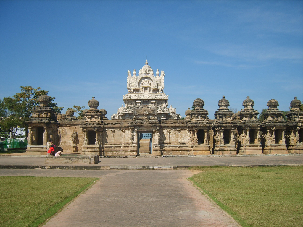Kailasanathar Temple Entrance - Kanchipuram, Tamil Nadu