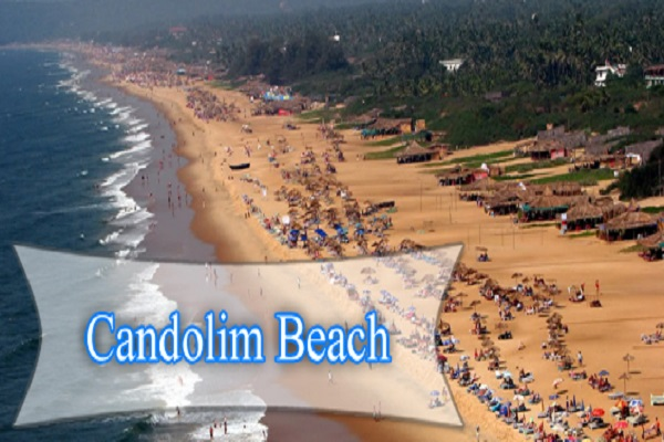 Candolim Beach, Goa Located 15kms from Panjim, Goa, Candolim is the perfect example of a traditional Indian fishing village. If you are on the lookout for a spectacular beach bazaar, head toward Candolim beach. Toward the Sinquerim end of the beach, you can indulge in adventure activities and water sports for an ultimate fun-filled holiday