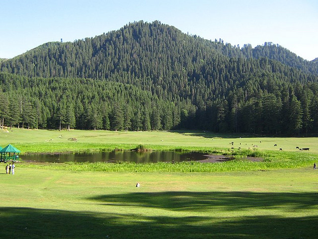 Khajjiar-Top-10-mountain-destinations-in-India