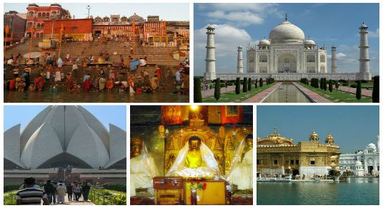 Uphold the Bloom of Top 5 Historical Places in India