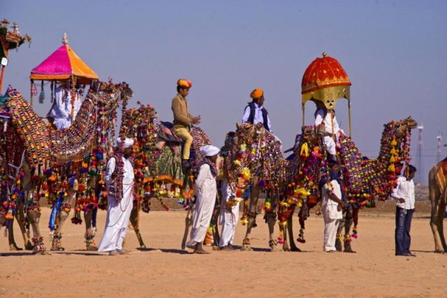 jaisalmer desert festival. Top 10 Events in India 2014