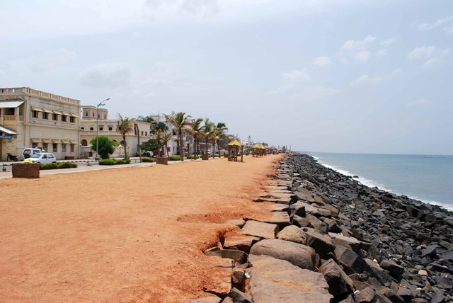pondicherry beach