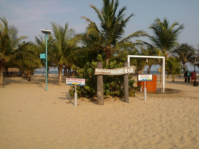 Paradise Beach-Pondicherry