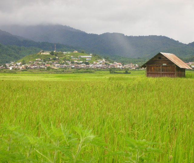 Ziro Hill Station in Arunachal Pradesh