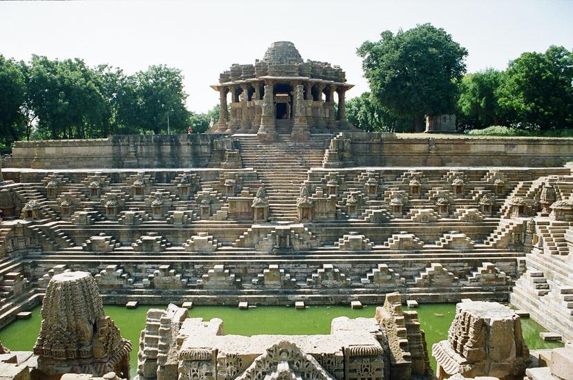 The Sun Temple in Modhera - Gujarat