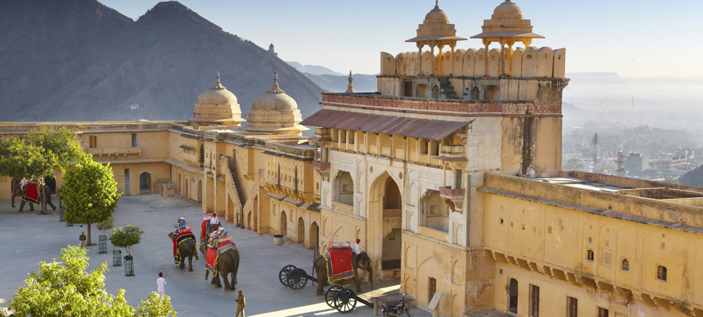 Feel like a maharaja at the majestic lands of the Rajputs